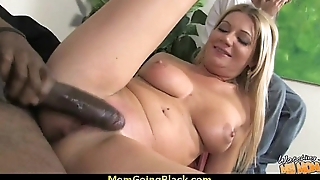 Beautiful mom anent swollen pussy fuck a black dick 2