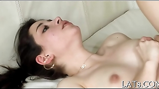 Lusty adventure with sexy doll