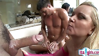 Hot housewife blowjob invitation