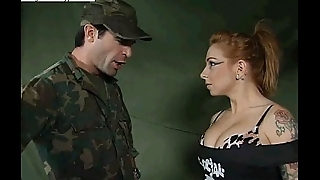 Scarlett Longing Army Recruit